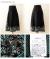 ペイズリーとチロル風ニットスカート