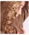 花刺繍のフ—ディロングジャケット