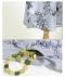巻き散る花たちロングシャツ