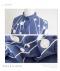 幾何学柄ドルマン7分袖シャツ