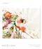 総レースカラフル花柄プリント半袖チュニック