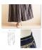 エスニック風ストライプマキシ丈スカート