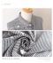 ストライプと刺繍が可愛いチュニックシャツ