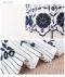 スカラップレース花刺繍のフレア袖コットントップス
