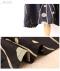 刺繍柄のミモレ丈コクーンワンピース