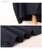 ポップ刺繍付きコットンリネンフレアワンピース