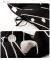 レトロなドット刺繍のチュニックワンピース