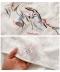 花刺繍のコットンスキッパーシャツ