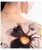 ゆったり花柄半袖ワンピース