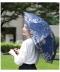 刺繍レースの晴雨兼用折りたたみ日傘