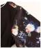 花柄プリント袖のセットアップジャージ