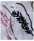 ナチュラルなボタニカル刺繍のシャツトップス