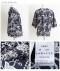 お花と小鳥刺繍のコットンブラウス