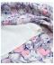愛らしい色合いの花柄フレアスカート