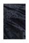 総刺繍のふんわり袖ブラックワンピース