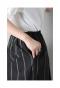 チュールのドッキングフレアスカート