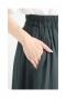 大人レディで上品なシルエットのティアードスカート
