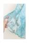 煌びやかな花柄フレアスカート