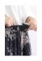 美しいチュールの小花柄フレアスカート