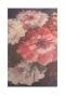 大人のレトロな花柄フレアスカート