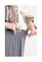 とろみニットのプリーツフレアスカート